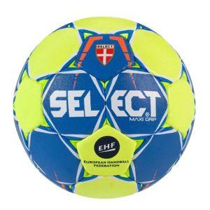 Hádzanárska lopta Select HB Maxi Grip modro žltá