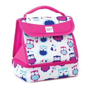 Desiatový box Spokey LUNCH BOX PINK