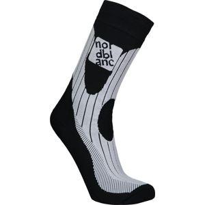 Kompresný športové ponožky NORDBLANC Derive NBSX16378_CRN 34-36