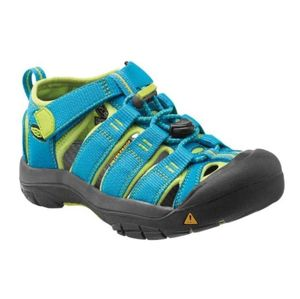 Sandále Keen Newport H2 Jr, hawaiian blue / green glow 6 US