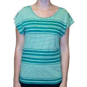 Tričko H.I.S Pale lime stripe XS
