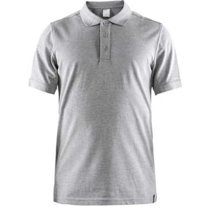 Pánske triko CRAFT Casual Polo Pique 1905800-950000 sivá S