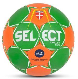 Hádzanárska lopta Select HB Circuit 450 zeleno oranžová