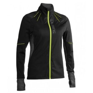 Bunda Salming Thermal Wind Jacket Women Black / Black Melange S