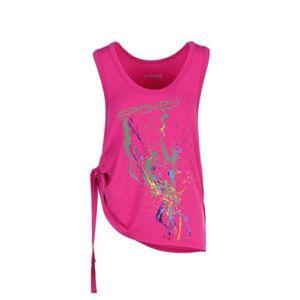 Fitness top Spokey Freedi ružový