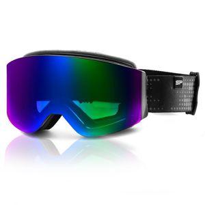 Lyžiarske okuliare Spokey GRANBY čierno-modré