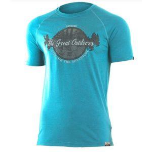 Pánske vlnené triko Lasting LUCAS 5858 S