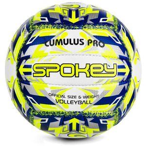Volejbalový lopta Spokey CUMULUS PRO žlto-modrý veľ. 5
