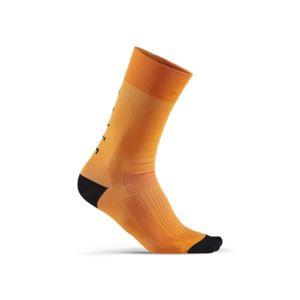 Ponožky CRAFT Training Pack 1909037-561999 oranžová s čiernou 46-48