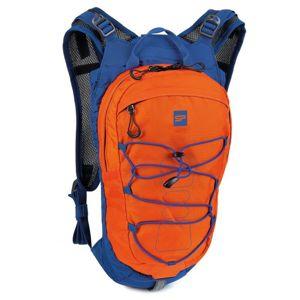 Cyklistický a bežecký batoh Spokey DEW15 l oranžovo-modrý