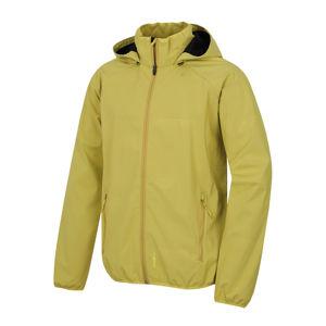 Pánska softshellová bunda Husky Sally M sv. horčicová XL