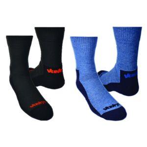 Ponožky Vavrys TREK CMX 2-pack 28326-83 čierna + modrá 43-45