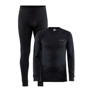 Set CRAFT CORE Dry Baselayer 1909707-999000 - čierna