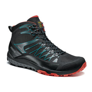 Topánky Asolo Grid Mid GV MM black/red/A392 9,5 UK