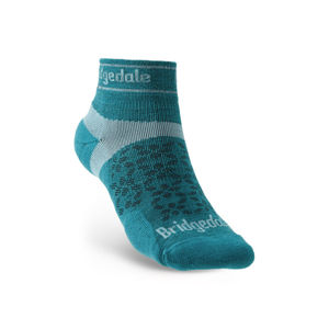 Ponožky Bridgedale TRAIL RUN UL T2 MS LOW Teal/259 S (3-4,5)