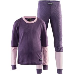 Set CRAFT Baselayer JR 1905355-750701 - fialová