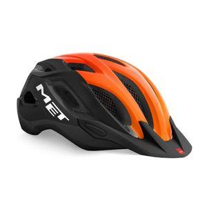 Helma MET Crossover čierna/oranžová