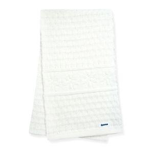 Pletená šál Kama S13 101 prírodne biela