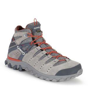 Topánky pánske AKU Alterra Lite GTX Mid šedo / červená 8 UK