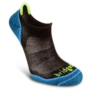 Ponožky Bridgedale CoolFusion Run Na-kd black/846 9,5-12