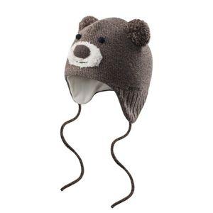 batoľacie čiapka Devold Bear Baby Beanie Brown GO 605 910 A 730A