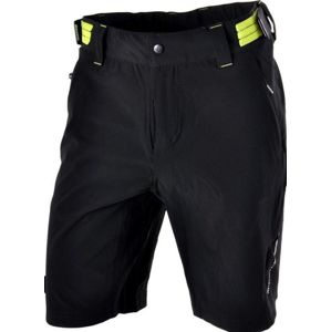 Pánske MTB cyklistické nohavice Silvini ELVO MP809 black-lime