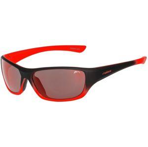 Detské slnečné okuliare RELAX Mona čierno oranžové R3066B