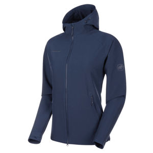 Dámska bunda Mammut Macun SO Hooded Jacket Women peacoat M