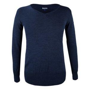 Dámsky sveter Kama 5101 108 tmavo modrý S
