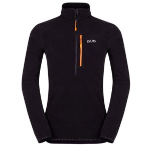 Pánsky fleece rolák Zajo Raven Pull Black XL
