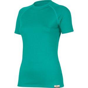 Merino triko Lasting ALEA 6565 tyrkysové vlnené S