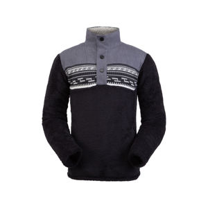 Sveter Spyder Men `s Wyre Half Snap Fleece 191244-001 L