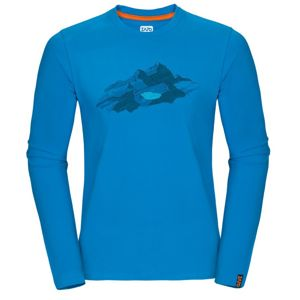Tričko Zajo Bormio T-shirt LS Blue Jewel Nature S