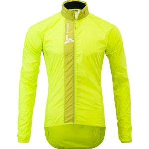 Pánska cyklistická bunda Gela MJ1607 lime