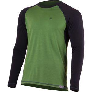 Merino triko Lasting MARIO 6080 zelené S