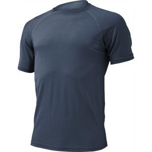 Merino triko Lasting QUIDO 5656 modré vlnené S